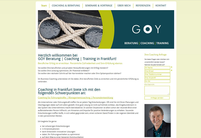 GOY - Coaching Frankfurt