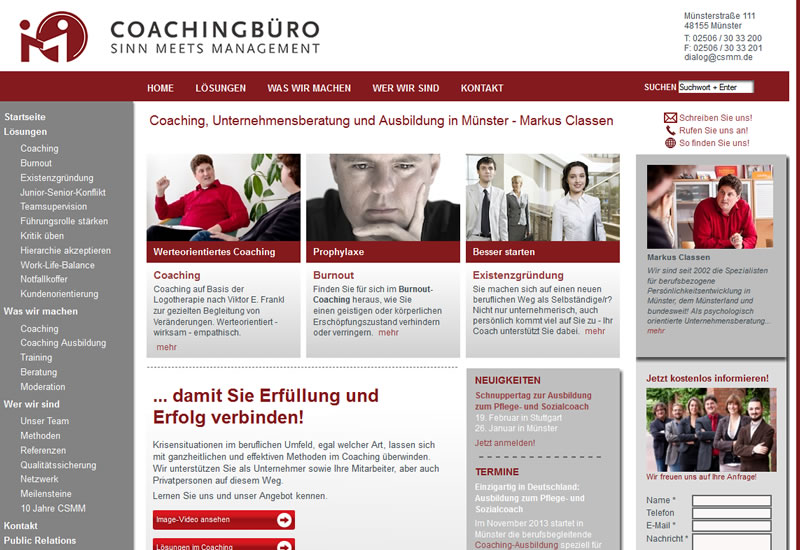Coachingbüro Sinn Meets Management